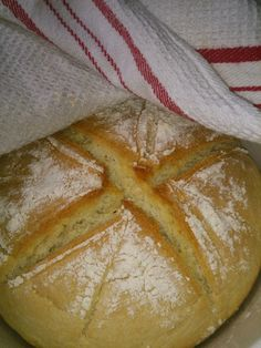 Mundo de Yoshi : Pão Milagre - receita Bimby Bread Baking, Food And Drink, Yoshi, Cooking, Breakfast, Granny Squares, Gluten Free, Album, Breads
