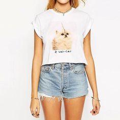 Unicorn Cat T-Shirt