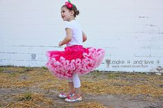 Free Pettiskirt tutorial from make it and love it