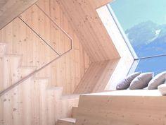 Ufogel hôtel de bois par Peter Jungmann
