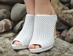 Meagan Slide Wedges as seen on Sensible Stylista (@sensiblestylist)