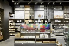 First Muji store I ever went to was in Paris, outside, downstairs, at the Louvre. Still in LOVE with MUJI!
