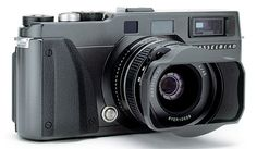 Hasselblad XPAN camera. It took 24x65mm panoramic frames on 35mm film. They are well made cameras, actually made in Japan by Fuji (Fuji model is called the TX-1). I love the format and loved the camera. Selling it was one of the dumbest things I've ever done in my life. Someday I'll have another.