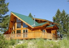 Pan Abode Cedar Homes Montana Phoenix Timber Cabin