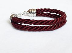 Silk Cord Bracelet / Available in Different Colors by Jadorenakit