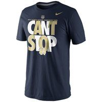 When your team has the natural talent to take them all the way to the 2013 BCS National Championship, you can't help but gloat a little: http://pin.fanatics.com/COLLEGE_Notre_Dame_Fighting_Irish/browse/featuredproduct/1086326/source/pin-nd-nike-cantstop-tshirt-sclmp #NotreDame #FightingIrish