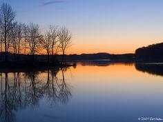 Marsh Creek State Park, a Pennsylvania park located nearby Aston ...