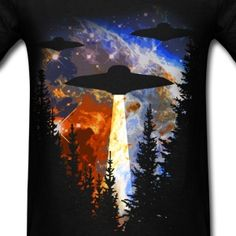 UFOs Over The Woods