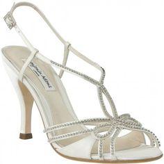 Marilyn By Benjamin Adams Wedding Shoes In Ivory