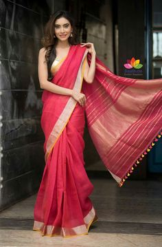 Pure Linen saree : free COD WhatsApp You are in the right place about Saree Styles with jacket Here we offer you the most beautiful pictures about the Saree Styles yellow you are looking for. When you examine the Pure Linen saree : free COD WhatsApp Indian Beauty Saree, Indian Sarees, Saris, Indian Dresses, Indian Outfits, Drape Sarees, Silk Sarees, Saree Poses, Saree Photoshoot