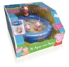 """IMC Toys – Peppa Pig """"Al agua con Peppa"""", juguete de baño (360112)"""