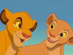 I got: Simba and Nala! All Disney Movies, Disney Fun, Disney Magic, Walt Disney, The Lion King 1994, Lion King Simba, Simba Und Nala, Lion King Pictures, Young Simba