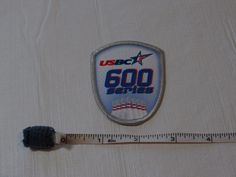 USBC United States Bowling Congress 600 series patch award USA ADULT league kids #USBC