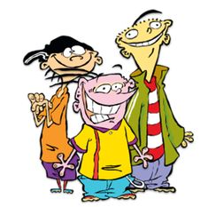 Ed Edd and Eddy one of my favourite child hood cartoons loves these guys.