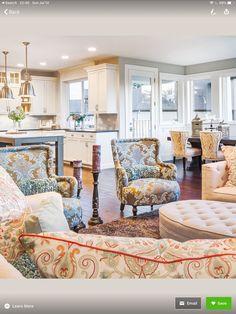 Add a pop of colour with accessories and certain furniture pieces. www.jacquelinewatson.ca #toronto #brampton #GTA #firsttimehomeyuyer #dreamhome #halton #vaughan ##six #beautiful #ontario #seniors #realtorlife #peel #richmondhill #markham #caledonia #oakville #beautifulquotes #condoliving #woodbridge #scarborough #worldtraveller #lovemycity #homeowner #realestate Living Room Floor Plans, Kitchen Floor Plans, Living Room Flooring, Condo Living, Living Room Kitchen, Building A Kitchen, Open Concept Kitchen, Traditional Bedroom, Dining Room Design