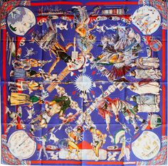 "Les Danses des Indiens (from <a href=""http://piwigo.hermesscarf.com/picture?/2574/category/Home"">HSCI Hermes Scarf Photo Catalogue</a>)"