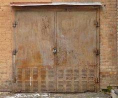 metal rusted door Google Search Metal and Rusty Entry Doors
