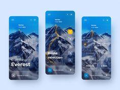APP by Max Dobzhansky for RonDesignLab on Dribbble Web Design, App Ui Design, Website Design Layout, User Interface Design, Graphic Design, Flat Design, Application Mobile, App Design Inspiration, Daily Inspiration