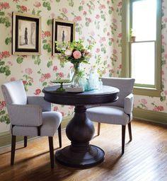 Vintage-Style Sitting Area