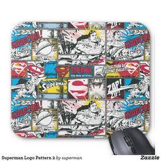 Superman Logo Pattern 2