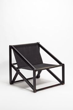 Günter Sulz; Lacquered Beechwood 'London Chair' for Behr & Sulz, 1971.