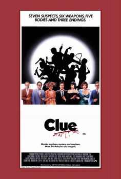 Clue 27x40 Movie Poster (1985)