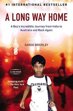 his is the miraculous and triumphant story of Saroo Brierley, a young man who used Google Earth to rediscover his childhood life and home in an incredible journey from India to Australia and back again #bookdepository #memoir #bookclub #lion