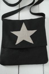 Linen bag; Hand made in Finland