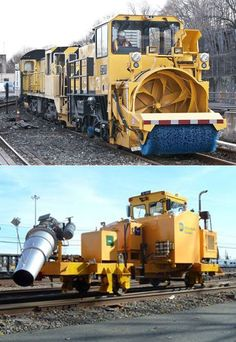 snow removal train