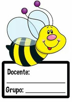 Bee with Pink Nose & Purple Antenna - Kartusmanya Classroom Labels, Classroom Displays, Classroom Decor, Bee Activities, Classroom Birthday, School Frame, Spelling Bee, Bee Cards, Cute Clipart
