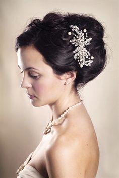 Eloise Wedding Hair Comb from Rosie Willett Designs