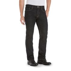 238bcf4b Signature by Levi Strauss & Co. Men's Boot Cut Fit Jeans, Size:
