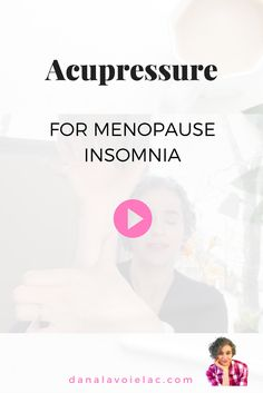 Insomnia Remedies In this quick video, you'll learn a acupressure routine perfect for bedtime. Especially if you're suffering from insomnia or having trouble sleeping due to menopause or other hormonal imbalance. Natural Remedies For Menopause, Herbal Remedies For Anxiety, Insomnia Remedies, Natural Sleep Remedies, Herbal Cure, Menopause Relief, Menopause Symptoms, Post Menopause, Natural Sleeping Pills