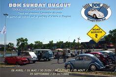 """DDK Sunday Bugout -   """"Sors ta VW c'est dimanche""""  Tous les derniers dimanches du mois.  De 28 avril au 27 octobre 2013  Blagnac, Midi-Pyrénées, France."""