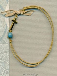 Μαρτυρικά Βάπτισης Σταυρουδάκι 15100 / 16 Jewelry Necklaces, Bracelets, Diy Bracelet, Little Man, Handmade Accessories, Christening, Arrow Necklace, Balloons, Baby Shower