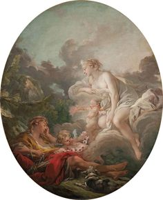 François Boucher Cephalus and Aurora 1764 Classic Paintings, Paintings I Love, Renaissance Kunst, Mythology Paintings, Victorian Paintings, French Rococo, Canvas Art Prints, Oil Canvas, Les Oeuvres