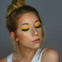 Giovanna Italia: Rainbow Freckles no Carnaval 2016 Rainbow Freckles, Beauty Kit, Beauty Hacks, Make Carnaval, Carnaval Baby, Maquillaje Halloween, Beauty Regime, Puffy Eyes, Fake Eyelashes