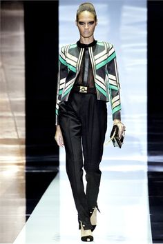That jacket. Gucci S/S 2012 RTW