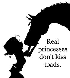 Real Princesses dont kiss toads