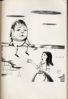 Alice In Wonderland And Through The Looking Glass  Illustrated by Dagmar Berková. Prague 1961. Alice In Wonderland And Through The Looking Glass | Flickr - Photo Sharing!