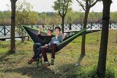 durable parachute material camping hammock of good quality  swinghammock   hammock chair  nubehammock   travel hammock hiking hammock nylon hammock sleeping hammock      rh   pinterest
