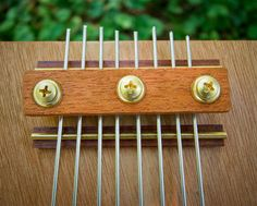 Cigar Box Thumb Piano 8 Note by sterainstruments on Etsy