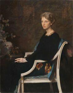 Edmund Charles Tarbell - Mrs Lovering Hathaway, 1936
