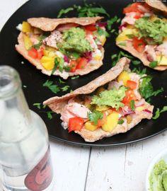 {Nachgekocht} superleckere Lachs-Tacos mit Mango