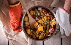Μπριάμ με μυζήθρα και φρέσκια ρίγανη Ratatouille, Ethnic Recipes, Food, Essen, Yemek, Meals