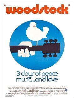 A great poster from the documentary made at Woodstock - 3 legendary days of Peace, Music.and Love! Our amazing selection of Woodstock posters is totally Far Out! Need Poster Mounts. Festival Woodstock, Woodstock Poster, Woodstock Concert, Woodstock Hippies, Joe Cocker, Musikfestival Poster, Poster Retro, Jimi Hendrix, Concert Posters