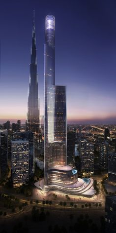 Tower 111 in Dubai by KPF