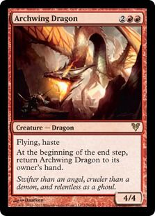 mtg Archwing Dragon ♥️♣️♦️Magic the Gathering ♦️♥️♣️More Pins Like This At FOSTERGINGER @ Pinterest ♠️♥️