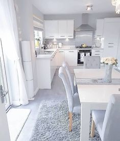 Again How are you lovely people? I can't believe the weekend is over s. Open Plan Kitchen Living Room, Kitchen Room Design, Modern Kitchen Design, Home Decor Kitchen, Kitchen Interior, Küchen Design, Design Case, House Design, Interior Design Career