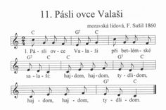Pásli ovce Valaši | Víra.cz, křesťanství.cz Dena, Music Notes, Ukulele, Piano, Sheet Music, Education, Kids, Christmas, Children
